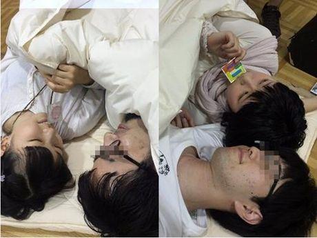 Nhom nhac nu Nhat Ban gay phan cam khi chup anh 'giuong chieu' voi fan - Anh 2
