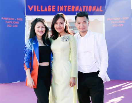 Hong Anh, Ngoc Thanh Tam du Gian Viet Nam o LHP Cannes 2017 - Anh 1