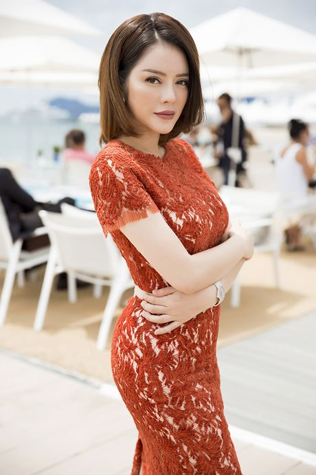 Ly Nha Ky tre trung trong bua tiec VIP tai Cannes - Anh 3