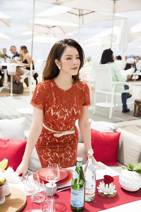 Ly Nha Ky tre trung trong bua tiec VIP tai Cannes - Anh 5