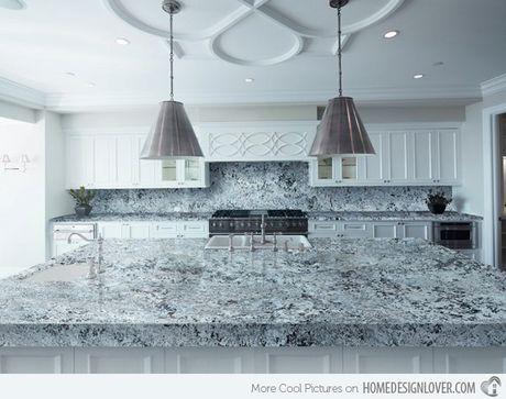 15 thiet ke mat bep lam bang da Granite - Anh 15