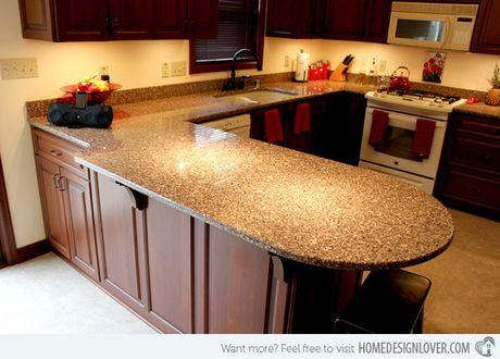 15 thiet ke mat bep lam bang da Granite - Anh 5
