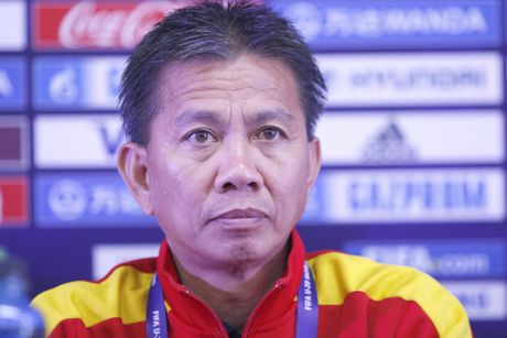 HLV Hoang Anh Tuan: U20 Viet Nam san sang cho tran cau lich su - Anh 1