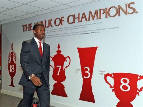 Dan sao Liverpool duoc chao don nhu nha vo dich truoc gio G - Anh 10