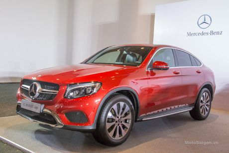 Can canh Mercedes-Benz GLC 300 4MATIC Coupe dau tien tai VN - Anh 2