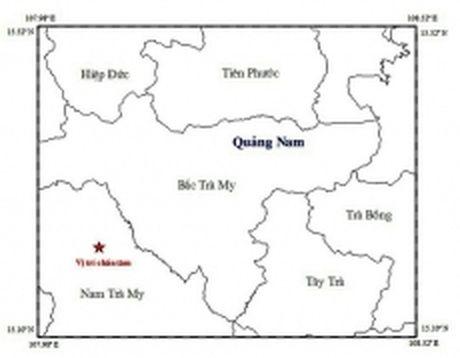 Dong dat 2,7 do richter tai khu vuc Thuy dien Song Tranh 2 - Anh 1