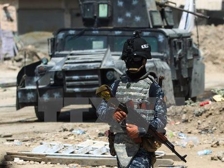 Mot phong vien Phap thiet mang trong vu no min tai Mosul - Anh 1