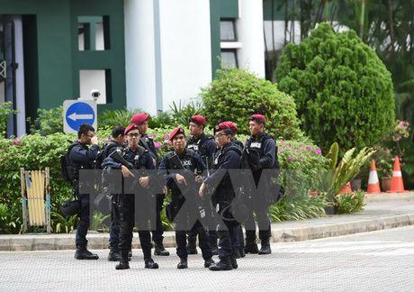 Singapore bat mot canh sat co ke hoach tham chien tai Syria - Anh 1