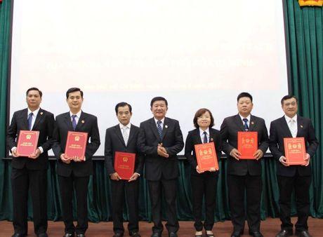 Bo nhiem nhan su TPHCM, Thua Thien - Hue, Tay Ninh - Anh 1