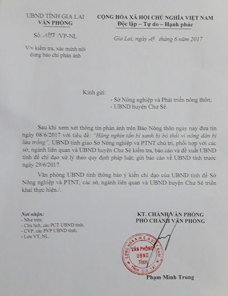 Gia Lai ra 2 van ban chi dao gap vu nong dan bi lua trong chanh leo - Anh 1
