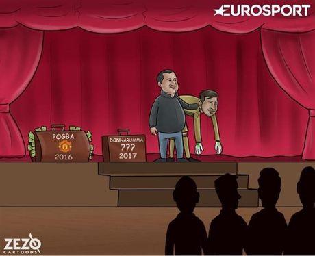 Biem hoa: Donnarumma ham tien vi Raiola, Ronaldo va trao luu dao tau trong he - Anh 3