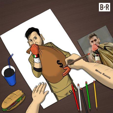 Biem hoa: Donnarumma ham tien vi Raiola, Ronaldo va trao luu dao tau trong he - Anh 4