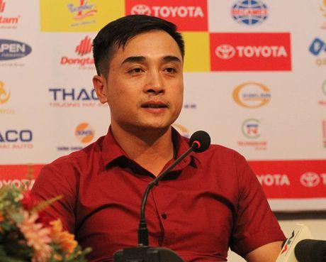 Thua Binh Duong, HLV Sai Gon FC noi thieu may man, trong tai chua cong tam - Anh 1