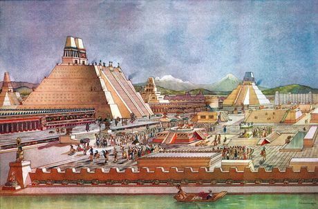 Nhung dieu thu vi ve thu do cua de che Aztec - Anh 2