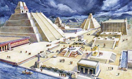 Nhung dieu thu vi ve thu do cua de che Aztec - Anh 5