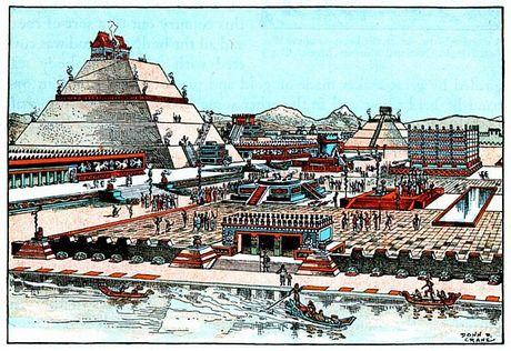 Nhung dieu thu vi ve thu do cua de che Aztec - Anh 8