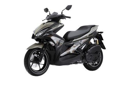 'Soi' Yamaha NVX 155 Camo moi gia 52,7 trieu tai VN - Anh 6