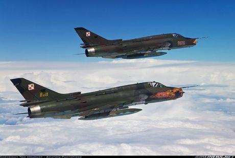 My ban roi may bay Syria: Su-22 chua tung danh thang tren khong - Anh 8
