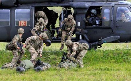 NATO lan dau tap tran phong thu quy mo lon o Baltic - Anh 1