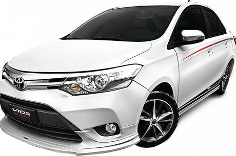Toyota Vios TRD 2017 chinh thuc ban tai Viet Nam, gia 644 trieu dong - Anh 1