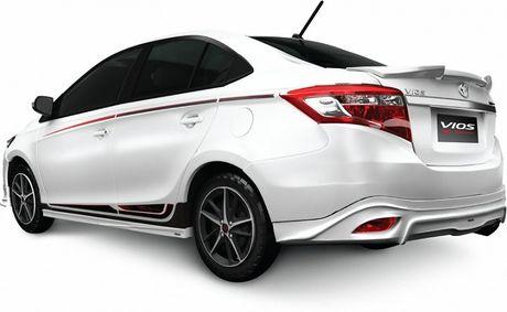 Toyota Vios TRD 2017 chinh thuc ban tai Viet Nam, gia 644 trieu dong - Anh 2