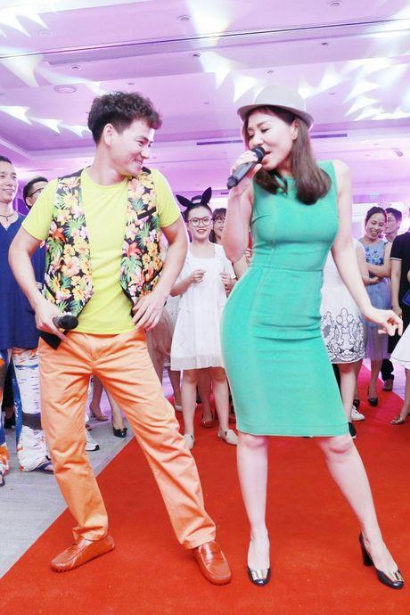 Thu Minh nhay sung het co cung Xuan Bac, Phan Anh - Anh 4