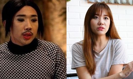 Tran Thanh noi doa vi bi Hari Won to 'khong phai dan ong' - Anh 1