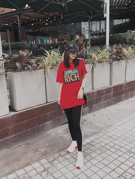 Street style ruc ro day mau sac cua sao, hot girl Viet tuan qua - Anh 9