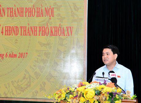 Chu tich Ha Noi: Khong the trong lai xa cu da danh chuyen tren pho - Anh 1