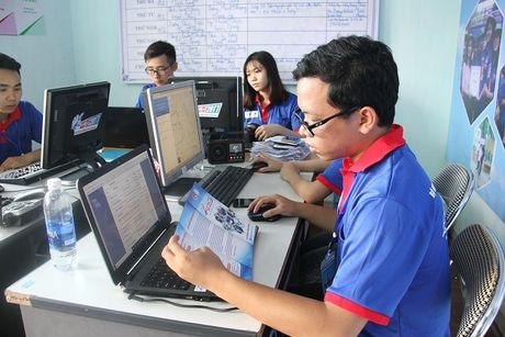 Chuong trinh tiep suc mua thi: Hai Phong co hon 2.000 tinh nguyen vien - Anh 1