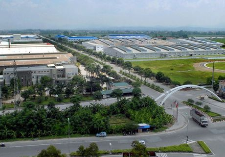 Vinh Phuc: Kinh nghiem thu hut FDI tai huyen Binh Xuyen - Anh 2