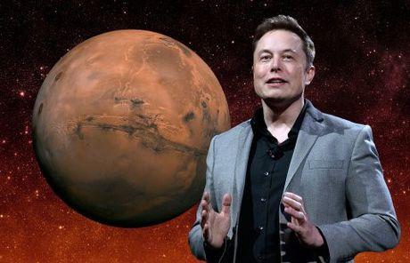 Elon Musk phac thao tham vong xam chiem Sao Hoa voi 1 trieu nguoi - Anh 1