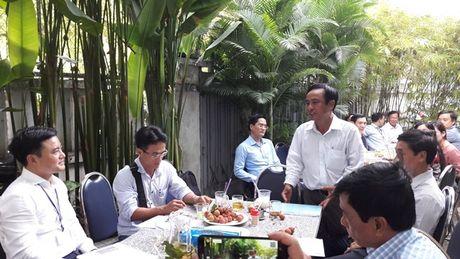 """""""Ca phe sang"""": Lanh dao So GTVT TPHCM mong luon dong hanh cung bao chi - Anh 2"""