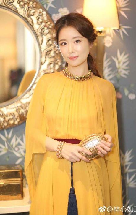 Lam Tam Nhu 'toa sang' lung linh voi sac vang quyen quy - Anh 5