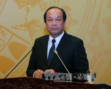 Bo truong Mai Tien Dung: Vinatex can co phan hoa, thoai von sau - Anh 1