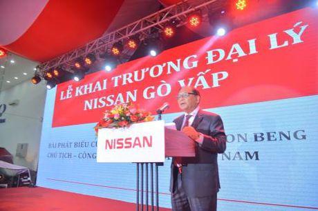 Nissan Viet Nam khai truong dai ly 3S Nissan Go Vap - Anh 1