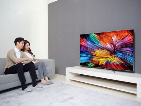 LG dua toan bo dong TV cao cap ve thi truong Viet Nam - Anh 4