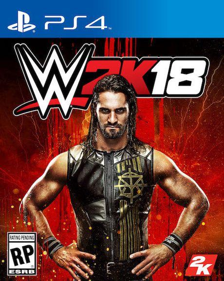 Do vat Seth Rollins len bia dia chinh thuc cua WWE 2K18 - Anh 1