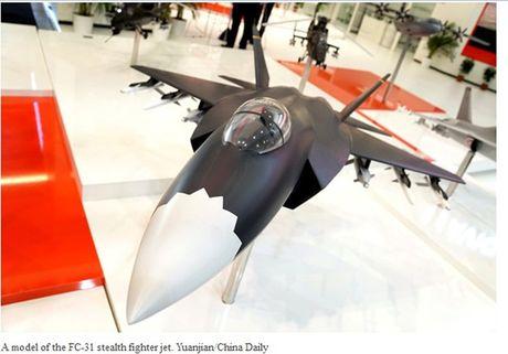 Trung Quoc gianh thi phan bang may bay tang hinh FC-31? - Anh 1