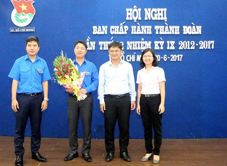 Anh Pham Hong Son duoc bau lam Bi thu Thanh doan TP.HCM - Anh 1