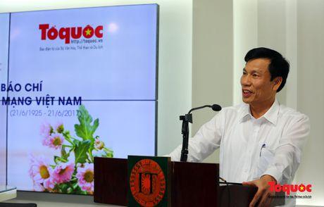 Bo truong Nguyen Ngoc Thien: Can bang loi ich nguoi doc, nguoi viet de phat trien Bao dien tu To Quoc - Anh 2