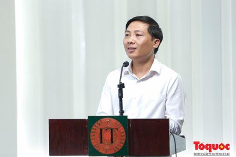 Bo truong Nguyen Ngoc Thien: Can bang loi ich nguoi doc, nguoi viet de phat trien Bao dien tu To Quoc - Anh 4
