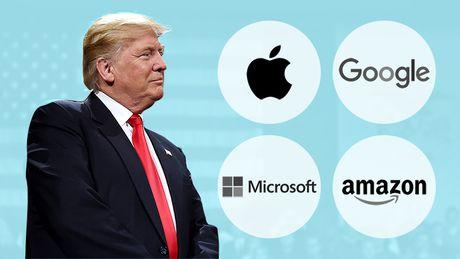 Tong thong Trump vua gap go nhung CEO cong nghe 'sung so' nhat nuoc My - Anh 1
