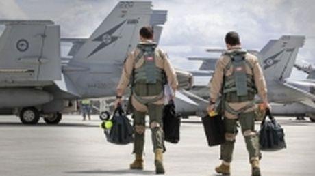 Australia tam ngung hoat dong khong kich o Syria - Anh 1