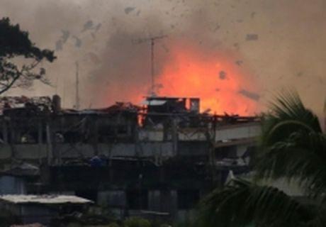 Philippines mo dot tan cong moi tai Marawi - Anh 1