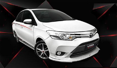 Toyota Vios TRD 2017 co gia ban 644 trieu dong - Anh 1