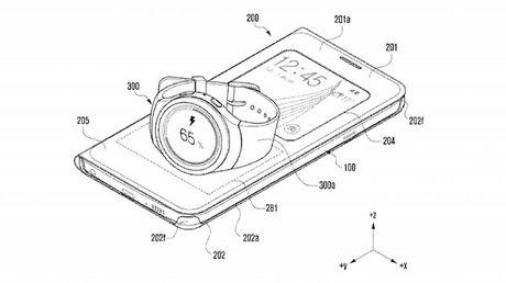 Samsung co sang che moi, sac smartwatch bang chinh smartphone - Anh 1