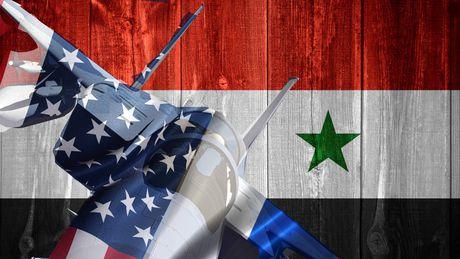 Lien quan My van tan cong o Syria, 12 thuong dan thiet mang - Anh 1
