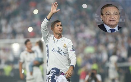 Florentino Perez: 'Ronaldo dang rat tuc gian voi bao chi' - Anh 5