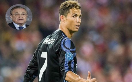 Florentino Perez: 'Ronaldo dang rat tuc gian voi bao chi' - Anh 8